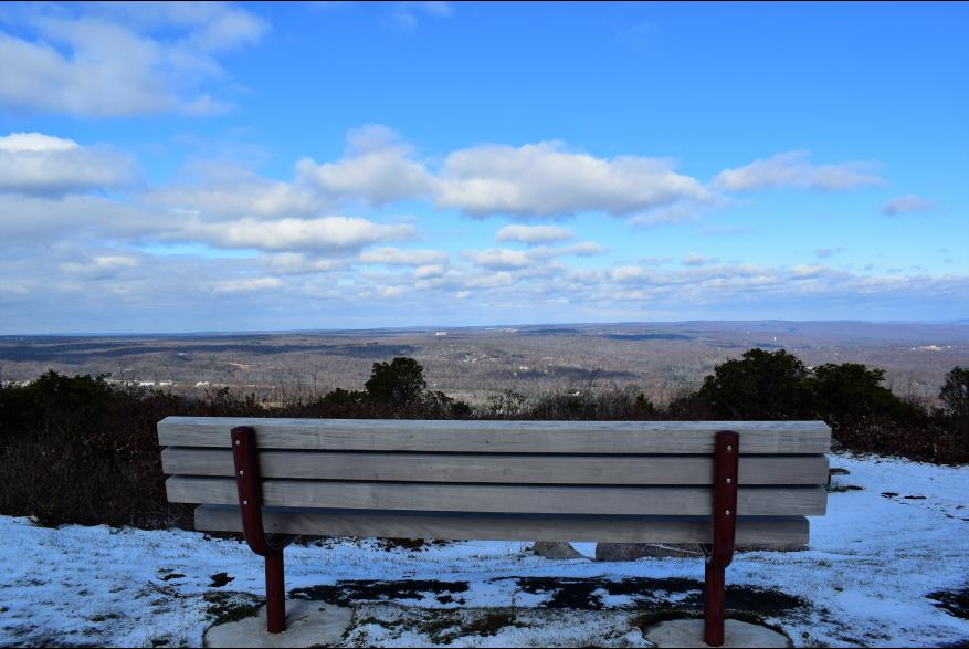 Scenic Winter Views of the Pocono Mountians