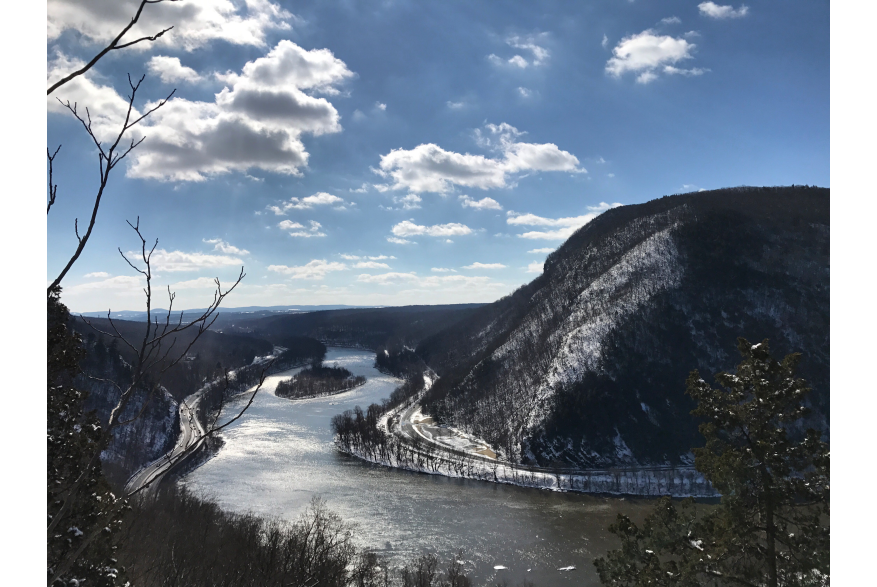 Winter in the Pocono Mountains