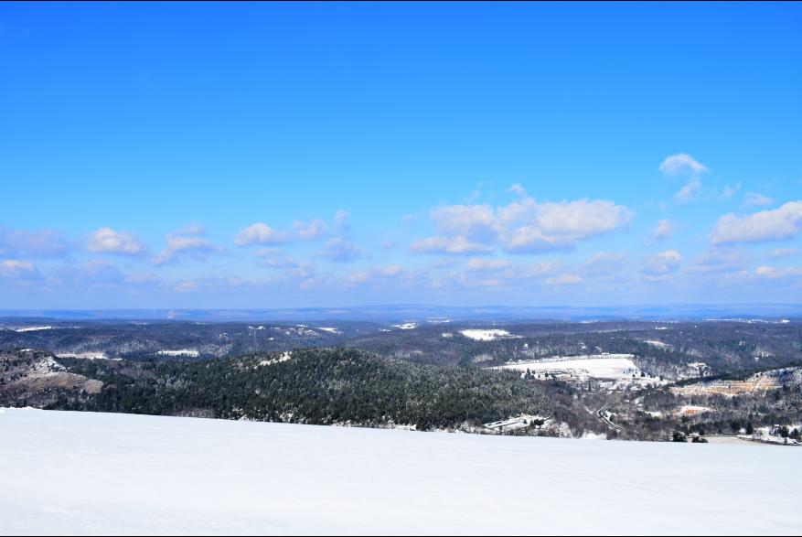 Winter Views in the Pocono Mountains