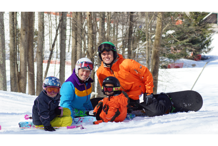 Skiing in the Pocono Mountains