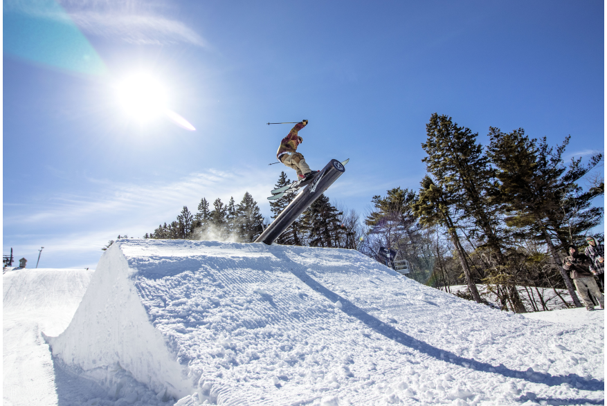 Big Boulder Freestyle Event in the Pocono Mountains