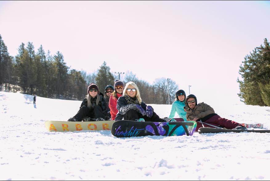 Pocono Mountains Snowboarding Locations
