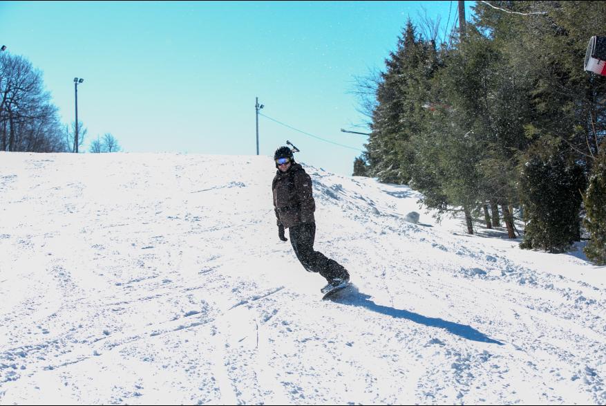 Snowboarding Fun at Blue Mountain
