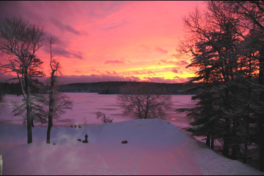A Pocono Mountains Sunset