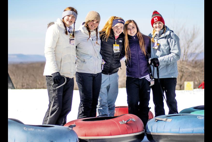 Poconos Family Snow Tubing Fun