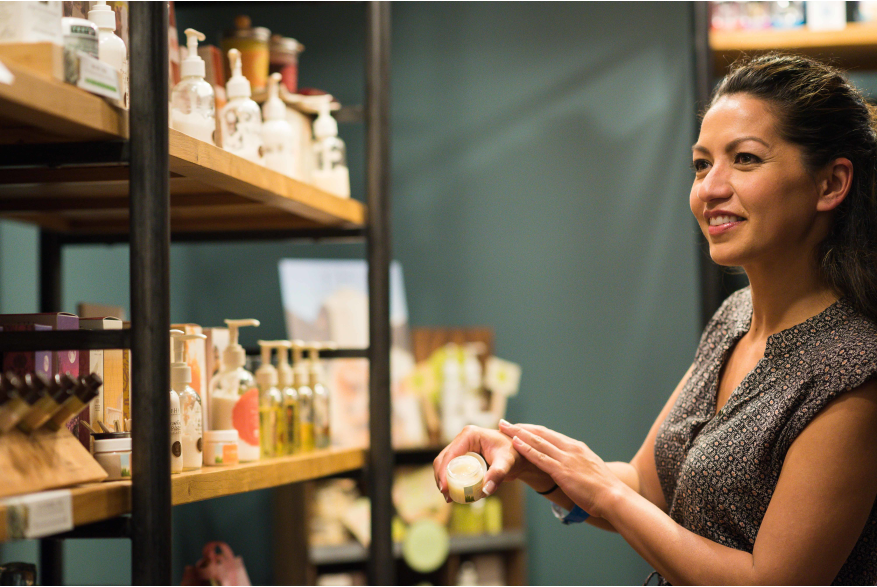 Women Shopping at Poconos Spa Facilities