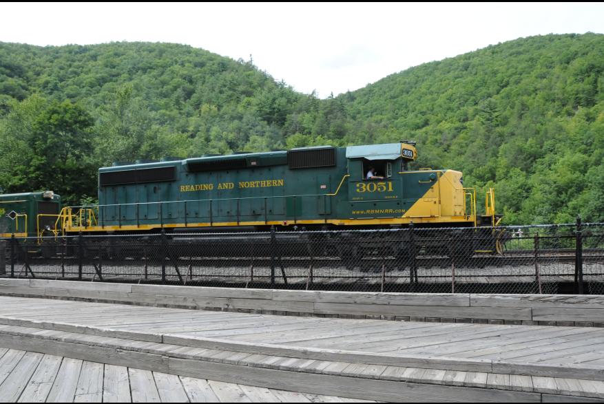 Historic train rides, Lehigh Gorge Scenic Railway