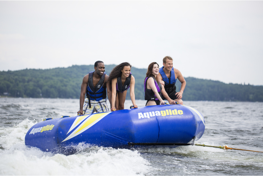 Water Tubing in the Pocono Mountains