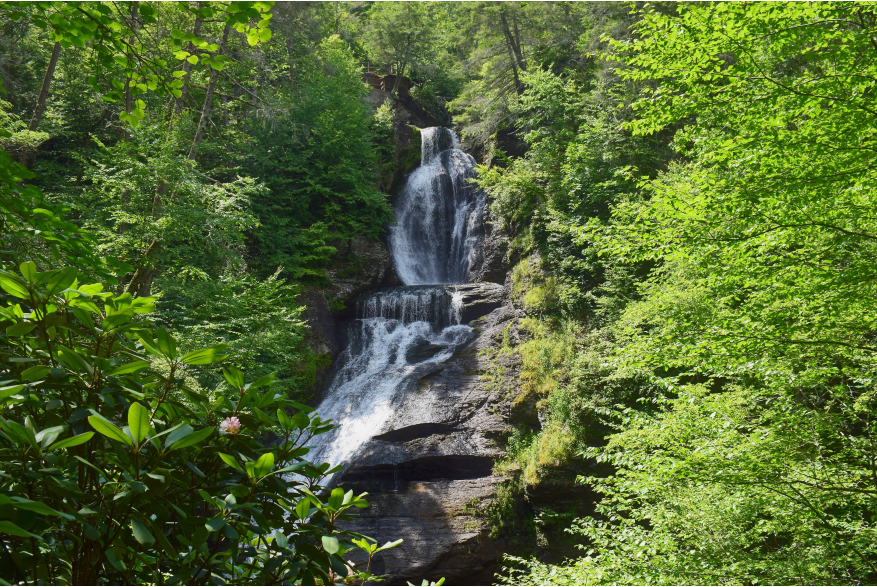 Explore the Dingmans Falls in the Delaware Water Gap National Recreation Area