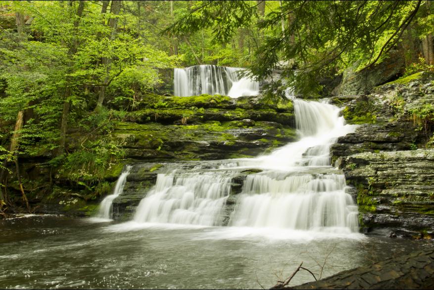 Waterfalls at Delaware Water Gap National Recreation Area