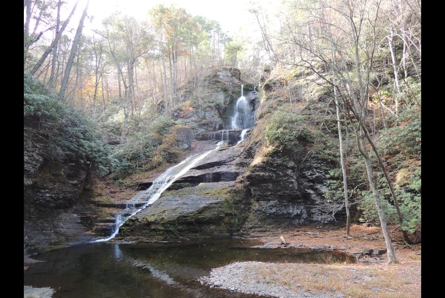 Explore Dingmans Falls in the Pocono Mountains
