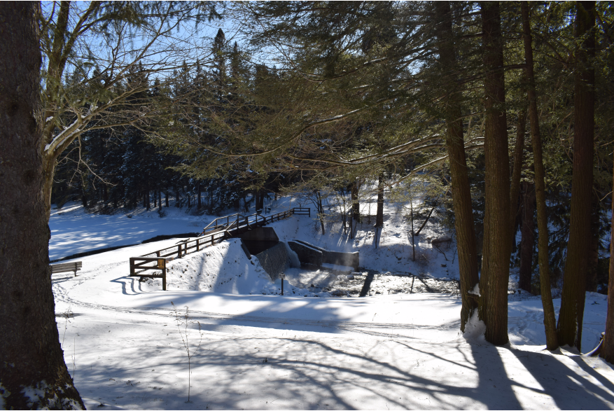 Winter Recreation in the Pocono Mountains