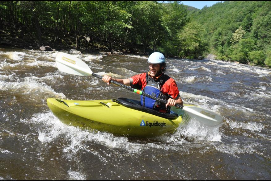 Kayak in the Pocono Mountains