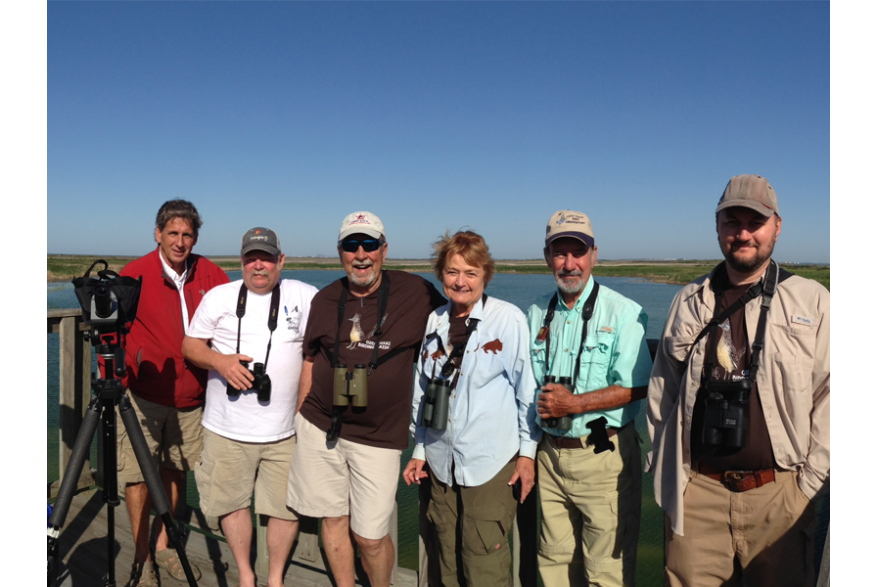 Birding with Joan & Scott Holt