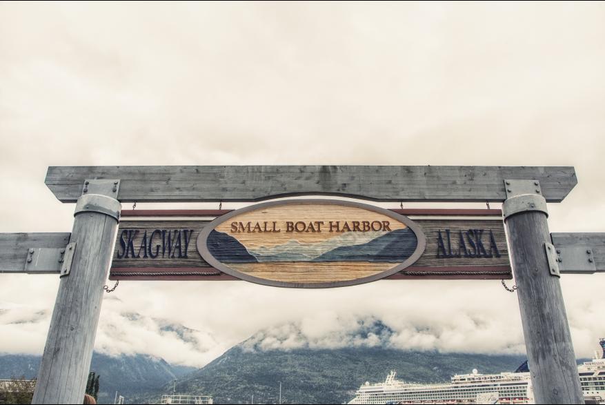 Skagway Alaska, Small Boat Harbour