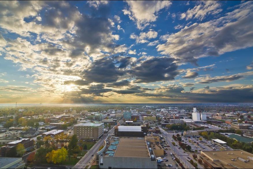 Springfield Evening Sunset