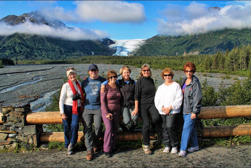 Alaska Group Exit Glacier