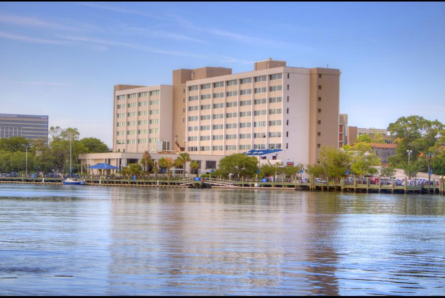 Hotel Ballast Riverfront View