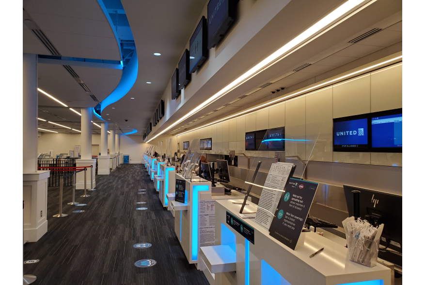 ILM New Ticket Counters