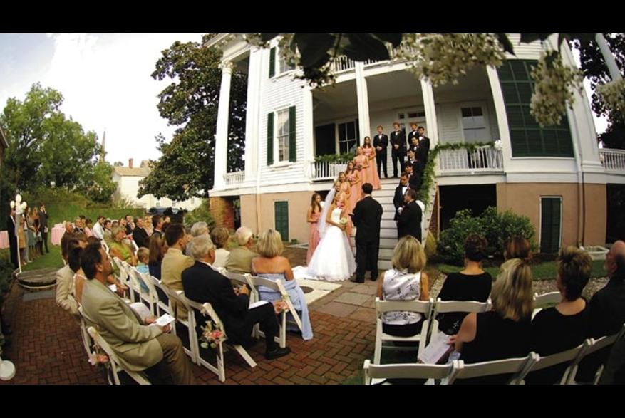 Outdoor Wedding at Bellamy Mansion