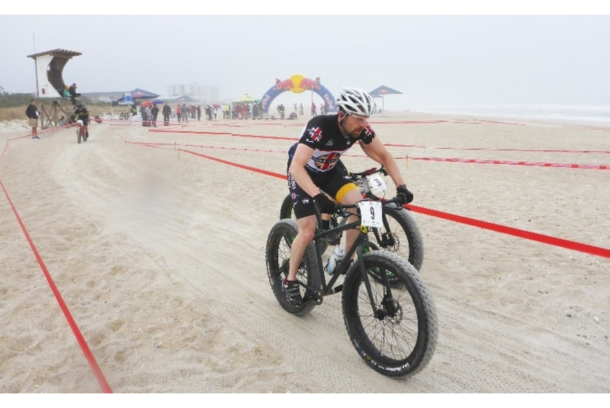 Bikes racing on Wrightsville Beach