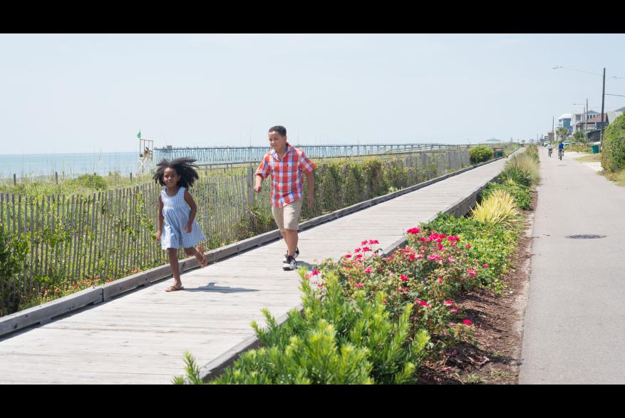 Kure Beach Boardwalk Kids