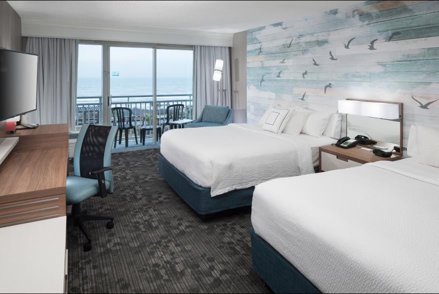 Courtyard Carolina Beach Oceanfront Guest Suite