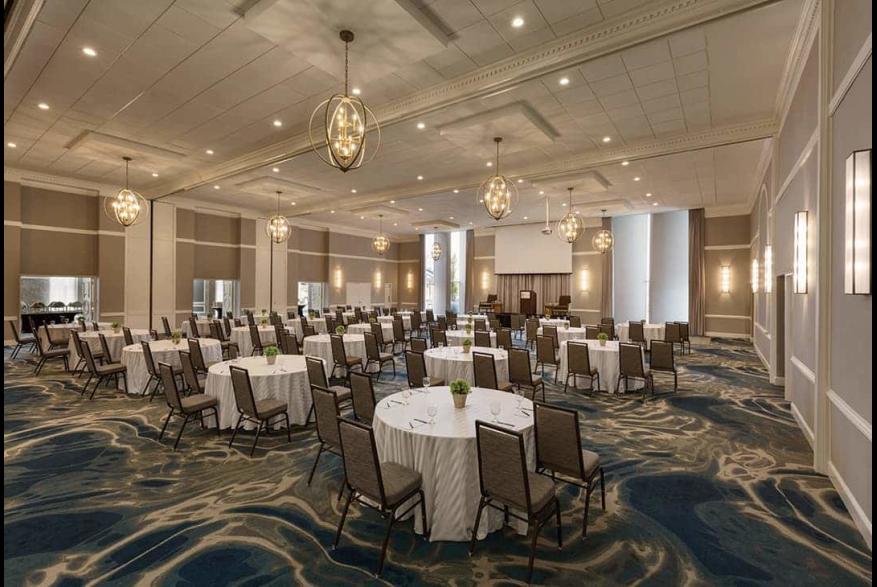 Hotel Ballast ballroom