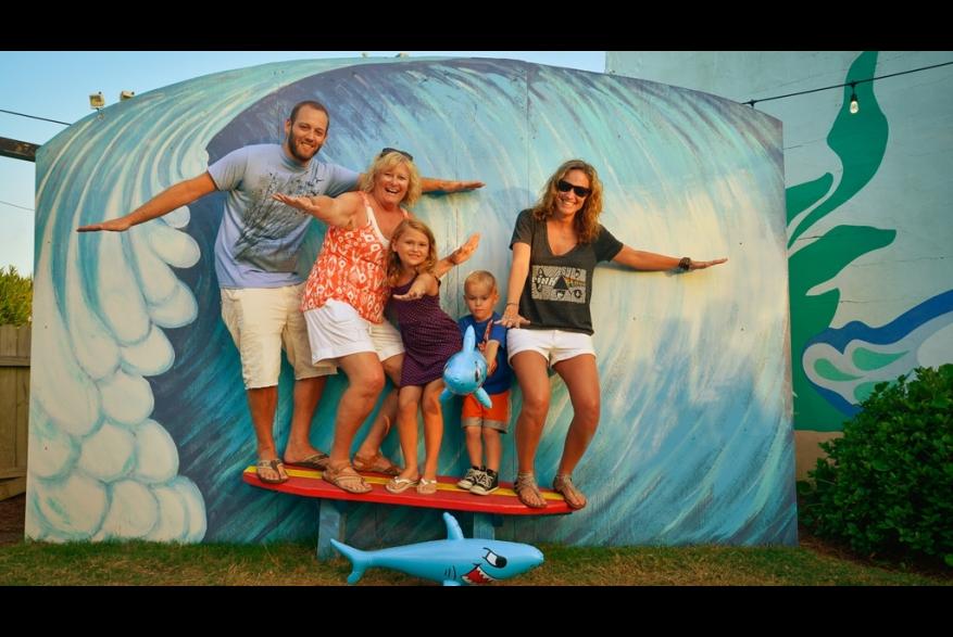 Riding the Carolina Beach Wave