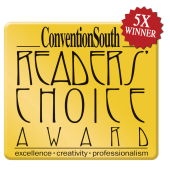 Bureau 5X Winner of Readers' Choice Award from ConventionSouth