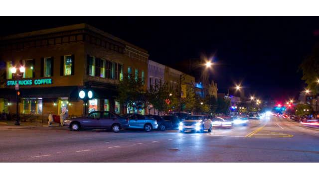Broad Street Nighttime