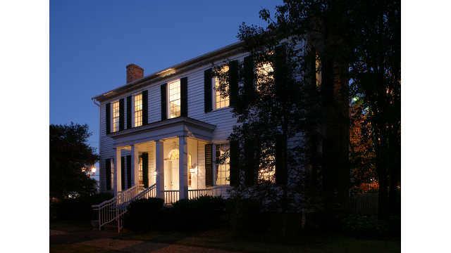 Church-Waddel-Brumby House at Night