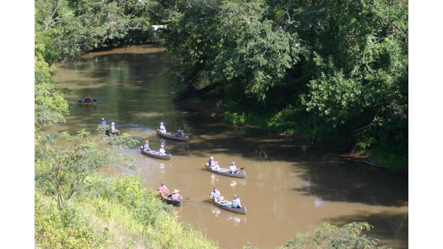 Canoeing the Oconee