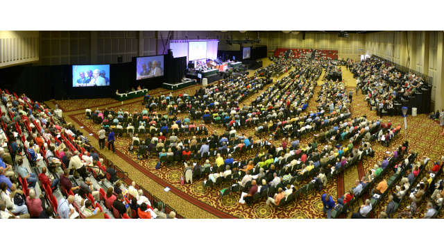 The Classic Center Grand Hall Panorama