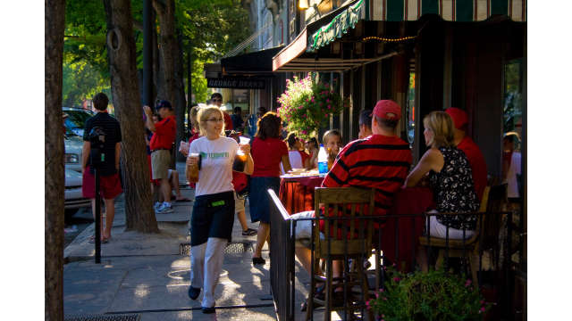 Downtown Athens Streetside Dining