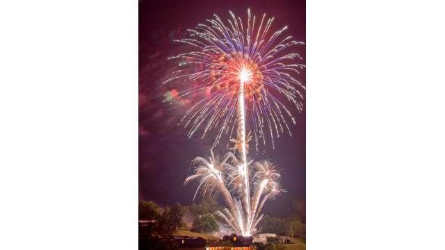 4th of July Celebration at Tweetsie   Boone, NC