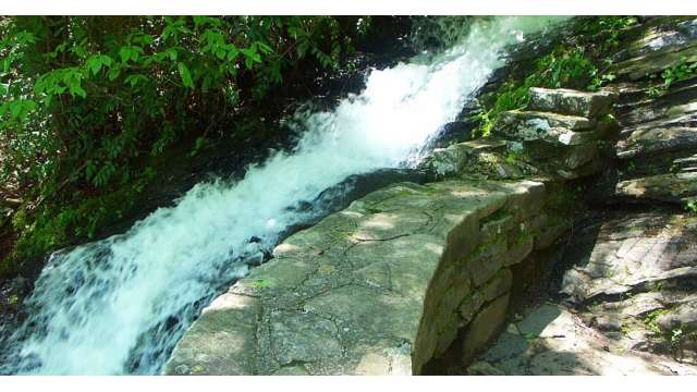 Cascades Waterfall | Blue Ridge Parkway MP 272