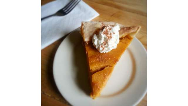 Sweet Potato Pie at Proper Restaurant | Boone, NC