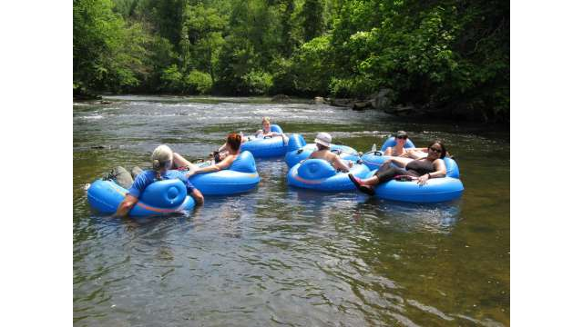 Tubing on the New River | Boone, NC