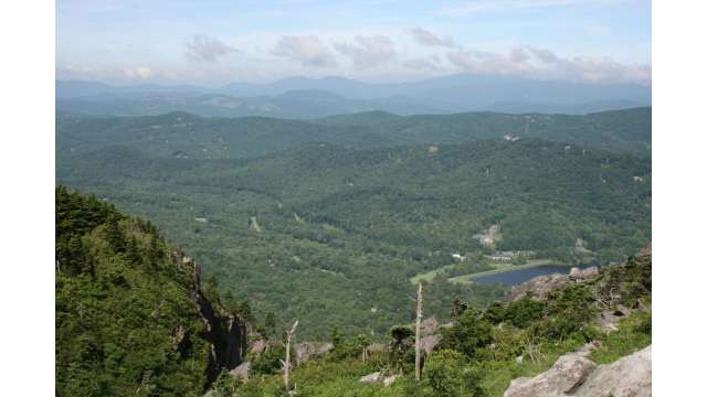 View From Grandfather Mountain | Linville