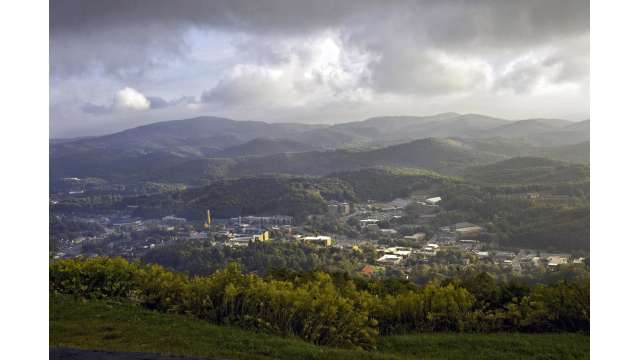 View of Boone from Howards Knob Park | Boone, NC
