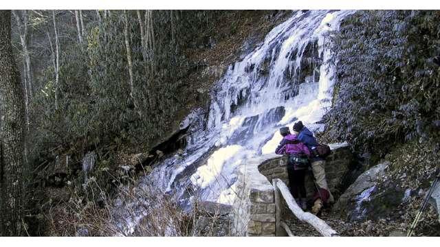 Cascades Waterfall | Boone, NC
