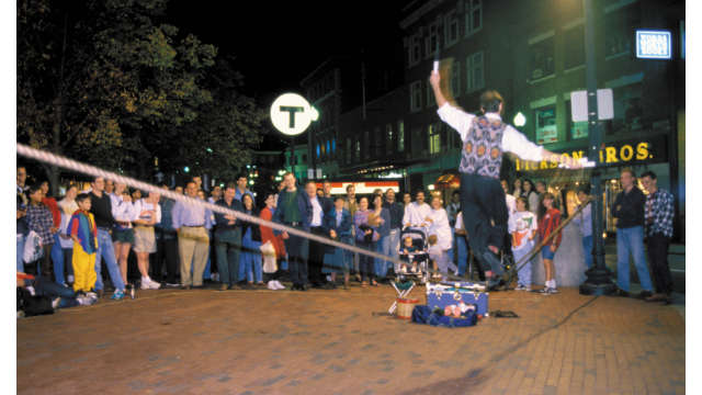 Harvard Square Street Performers