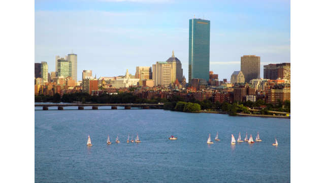 Back Bay from Cambridge