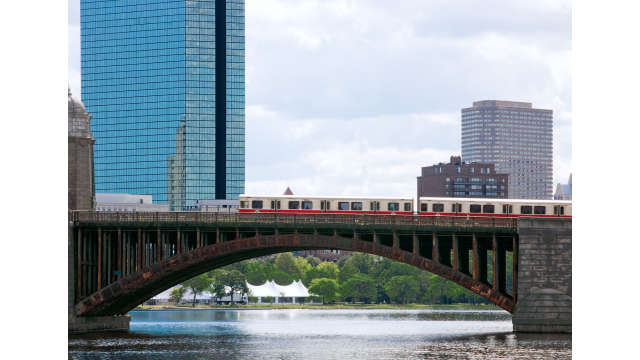Red Line with John Hancock building