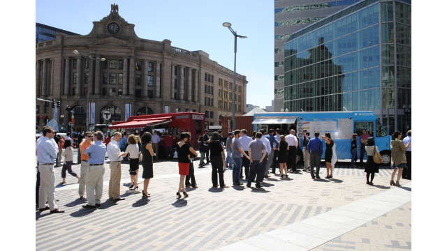 Food Truck frenzy on the Greenway
