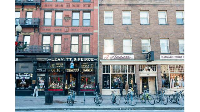 Shops in Harvard Square