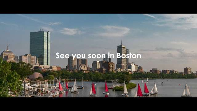 See you soon in Boston