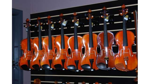 Hershey Violins in Downtown Mechanicsburg