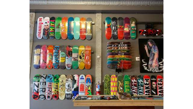 Stolen Wall of Boards